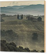 White Chapel Wood Print