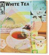 White Tea Blend  Wood Print