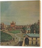 Whitehall From Richmond House Wood Print