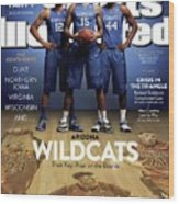 Who Can Catch The Cats Arizona Wildcats, Their Key Roar On Sports Illustrated Cover Wood Print