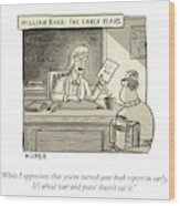 William Barr The Early Years Wood Print