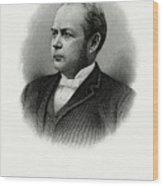 William Windom Wood Print