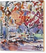 Williamsburg Color Wood Print