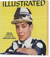 Willie Hartack, Jockey Sports Illustrated Cover Wood Print