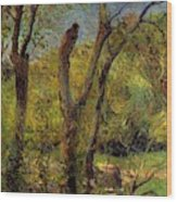 Willows 1885 Wood Print