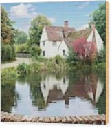Willy Lott's House Wood Print