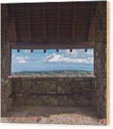 Window View - Ccc Lookout- Cedar Breaks - Utah Wood Print