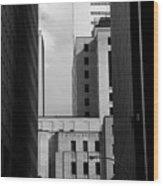 Windows, Montreal, Quebec, Canada Wood Print