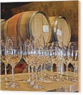 Wine Tasting Room Wood Print