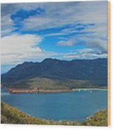 Wineglass Bay Wood Print