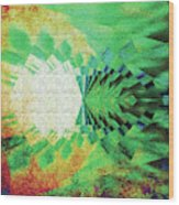 Winged Migration Wood Print