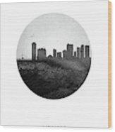 Winnipeg Skyline Cambwi04 Wood Print