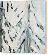 Winter Trees #4 Wood Print