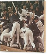 World Series 6 Yankees Wood Print
