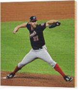 World Series - Washington Nationals V Wood Print