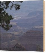 Yaki Point Wood Print