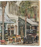 Ybor City Movie Set Wood Print