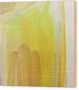 Yellow #3 Wood Print