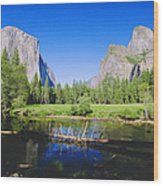 Yosemite National Park, California, Usa Wood Print