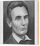 Young Lincoln Lawyer Wood Print