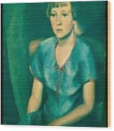 Yvonne Wood Print