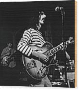 Zappa & The Mothers On Stage Wood Print