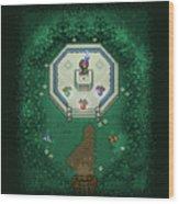Zelda Mastersword Wood Print