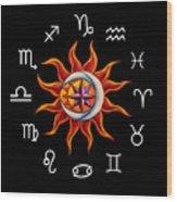 Zodiac Transparent Wood Print