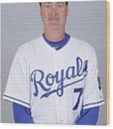 2010 Major League Baseball Photo Day Wood Print
