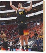 2021 NBA Playoffs - Memphis Grizzlies v Utah Jazz Wood Print