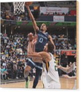 2021 NBA Playoffs - Utah Jazz v Memphis Grizzlies Wood Print