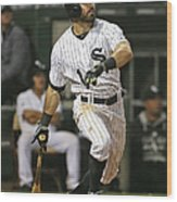 Adam Eaton Wood Print