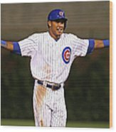 Addison Russell Wood Print