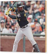 Andrew Mccutchen Wood Print