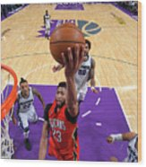 Anthony Davis Wood Print