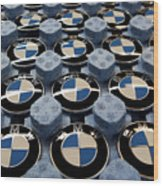 BMW Ahead Of 2009 Earnings Wood Print
