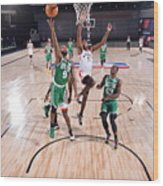 Boston Celtics v Toronto Raptors Wood Print