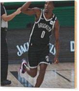 Brooklyn Nets v Milwaukee Bucks Wood Print