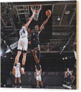 Brooklyn Nets v San Antonio Spurs Wood Print
