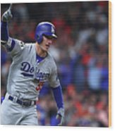 Cody Bellinger Wood Print