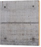 Concrete Wall Background Wood Print