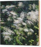 Dancing Hedgerow Wood Print