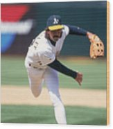 Dennis Eckersley Wood Print