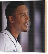 Desmond Jennings Wood Print