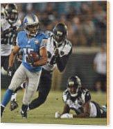 Detroit Lions v Jacksonville Jaguars Wood Print