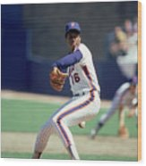 Dwight Gooden Wood Print