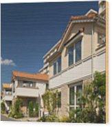 Emerging residential area Wood Print