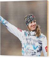 FIS Freestyle Ski World Championships - Men's and Women's Ski Cross Wood Print