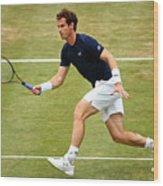 Great Britain v France - Davis Cup: Day Three Wood Print