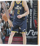 Joe Ingles Wood Print